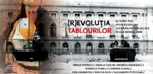 (R)EVOLUȚIA TABLOURILOR. Actorii TNB spun poveștile lucrărilor împușcate în decembrie 1989