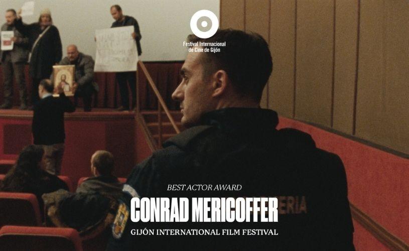 Actorul român Conrad Mericoffer a fost desemnat cel mai bun actor la festivalurile de la Torino și Gijón