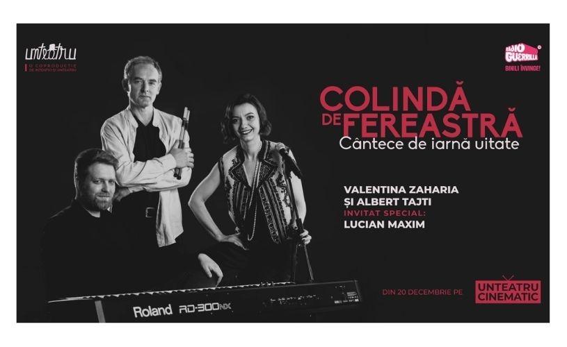 Crăciunul la unteatru, cu actrița Valentina Zaharia și cântece de iarnă uitate