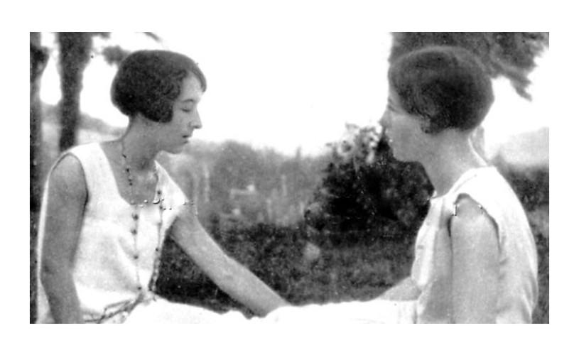 Simone de Beauvoir și Zaza Lacoin. Inseparabilele