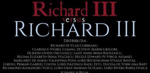 """Premieră online la Teatrul Mic: """"Richard III versus RICHARD III"""""""