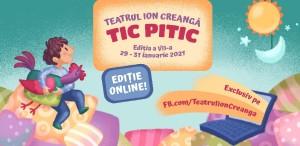 Teatrul Ion Creangă îi așteaptă pe copii la TIC PITIC – Zilele Small Size