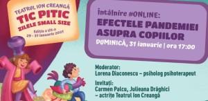 Întâlnire #online: Efectele pandemiei asupra copiilor
