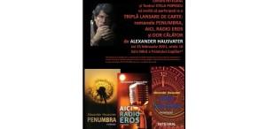 """Întâlnire cu Alexander Hausvater în postura de scriitor la Teatrul """"Stela Popescu"""", pe 25 februarie"""