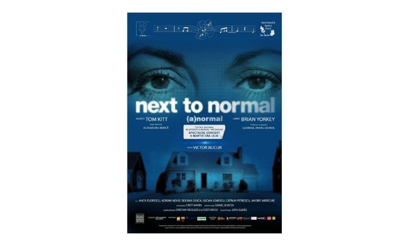 """Next to Normal – (A)normal"" în spectacol concert"