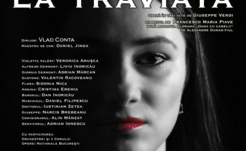 LA TRAVIATA, operă în concert, transmisă online de ONB pe 18 aprilie