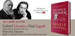 """Gabriel Liiceanu și Vlad Zografi în dialog despre """"Regele şi cadavrul. Poveste despre biruinţa sufletului asupra răului"""""""