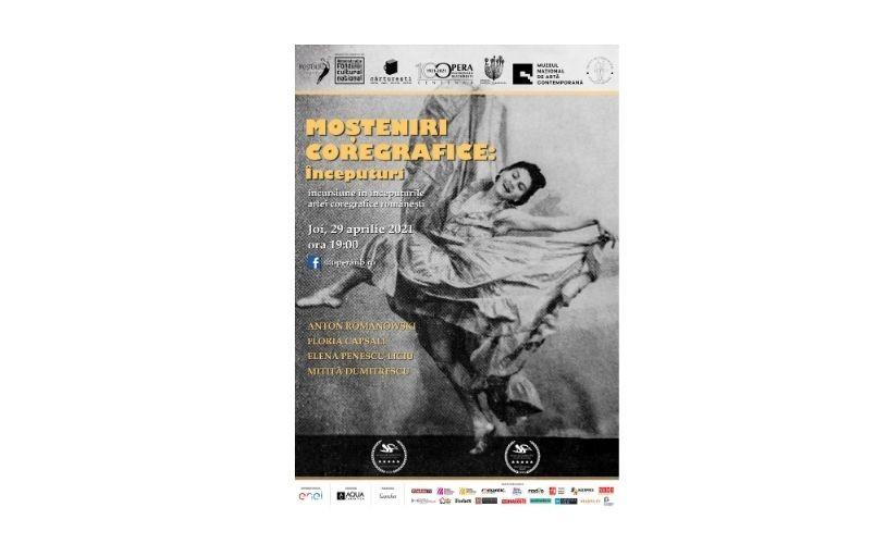 Documentar transmis de către Opera Națională București cu ocazia Zilei Internaționale a Dansului