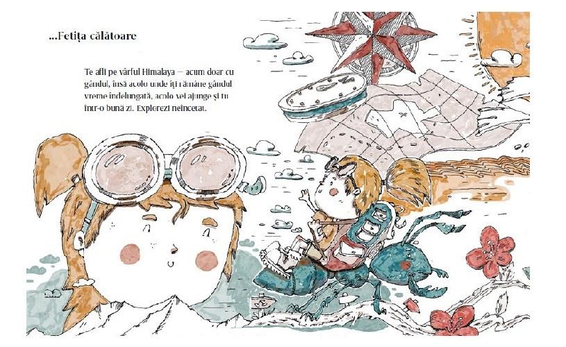 """""""Cartea omuleților"""", un inventar jucăuș de portrete fictive ale copilăriei"""