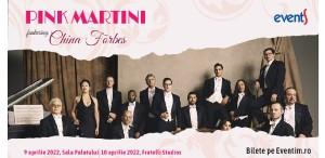 Concertele Pink Martini la București vor avea loc în 2022