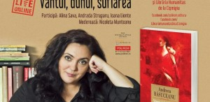 """Live & online: Întîlnire Alecart cu Andreea Răsuceanu & """"Vîntul, duhul, suflarea"""""""