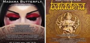 """""""Madama Butterfly"""" și """"Baiadera"""", pe scena Operei Naționale București"""