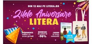Editura Litera sărbătorește 32 de ani cu 5 zile de evenimente speciale