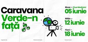"""Începe caravana """"Verde-n față"""" cu proiecții de film în aer liber"""