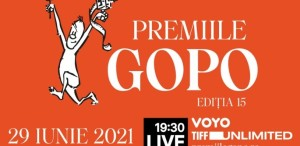 Gala Premiilor Gopo 2021:  29 iunie, de la 19:30 LIVE pe VOYO, TIFF Unlimited și premiilegopo.ro