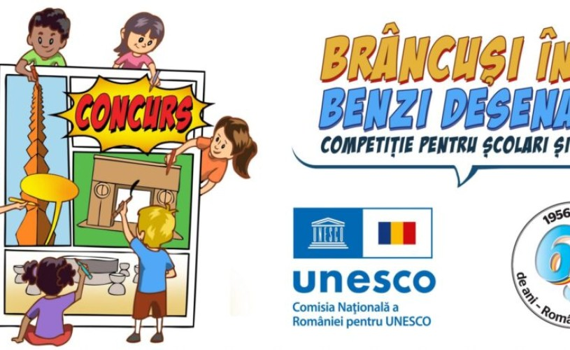 Concurs de benzi desenate dedicat lui Constantin Brâncuși