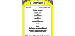 Recital cameral cu public la Ateneul Român