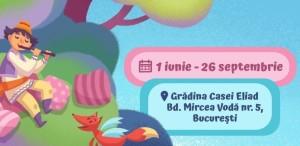 Teatrul Ion Creangă celebrează 1 iunie cu un program #VăraTIC în grădina Casei Eliad