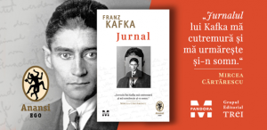 Jurnalul lui Franz Kafka apare la Pandora M