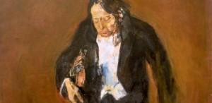 """Lucrarea """"George Enescu"""" de Corneliu Baba, expusă acum în Galeria Națională"""