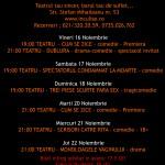 Program 16-22 Noiembrie