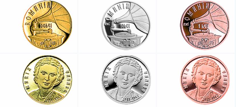 Monede Maria Tanase