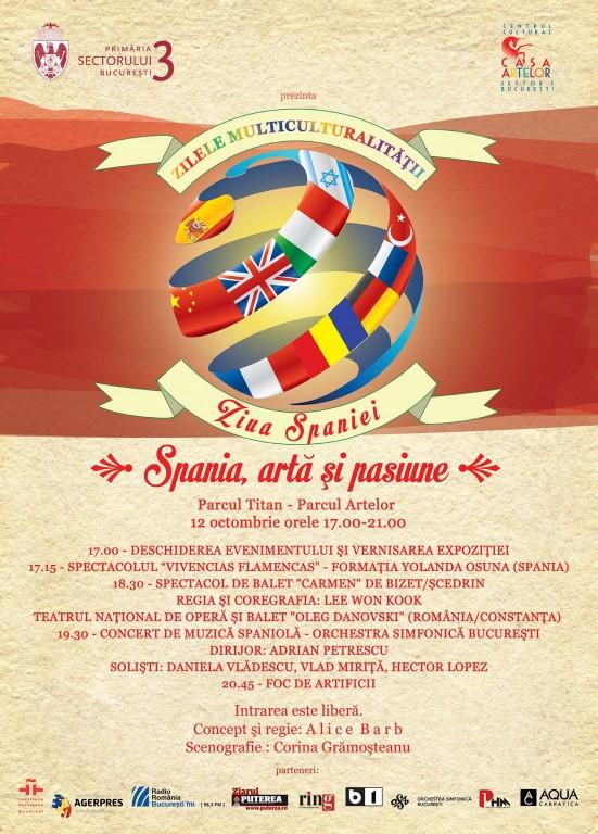 Casa Artelor poster ziua spaniei