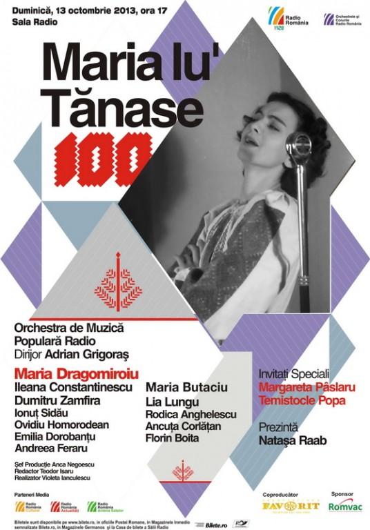Centenar Maria Tanase