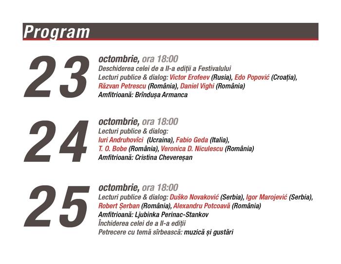 Festivalul de Literatura Timisoara