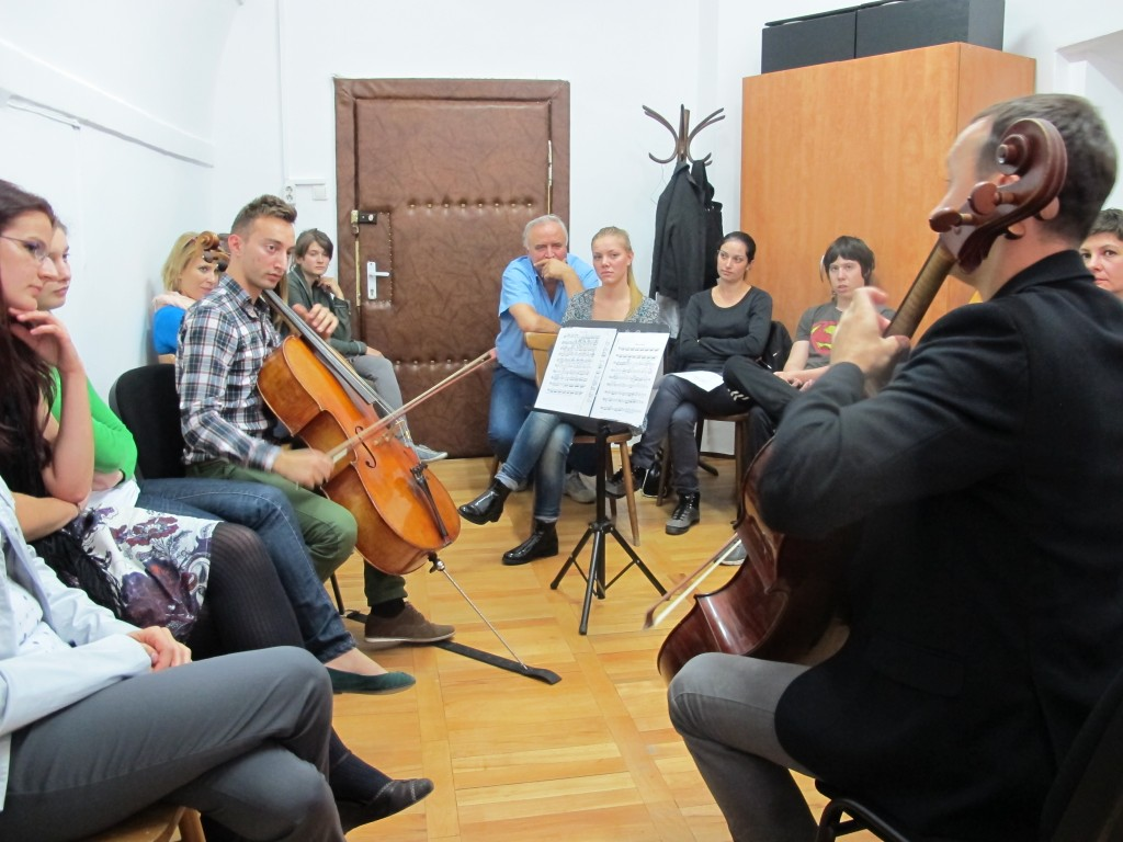 Va place Brahms Masterclass