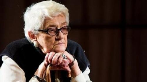 Radu Beligan o prezinta pe Olga Tudorache