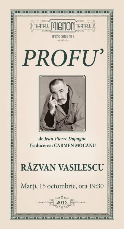 Razvan Vasilescu profu