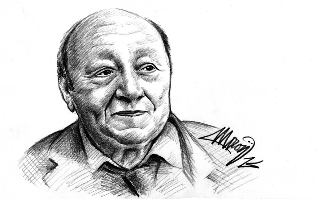 Marin Moraru portret de Marius Miron