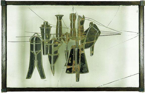 MARCEL DUCHAMP - NEUF MOULES MÂLIC _ MUSÈE NATIONAL D'ART MODERNE; CENTRE GEORGES POMPIDOU