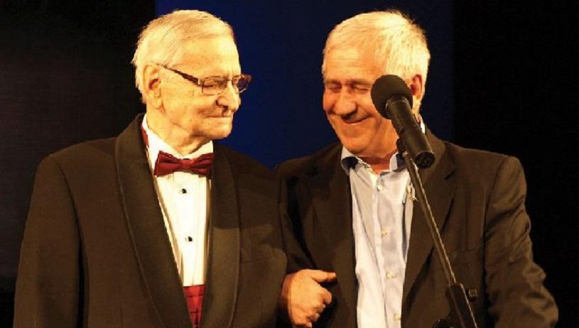 Radu Beligan şi George Mihăiţă