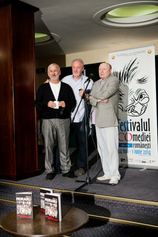 Trei grei ai comediei româneşti: George Mihăiţă, Vladimir Găitan şi Marin Moraru