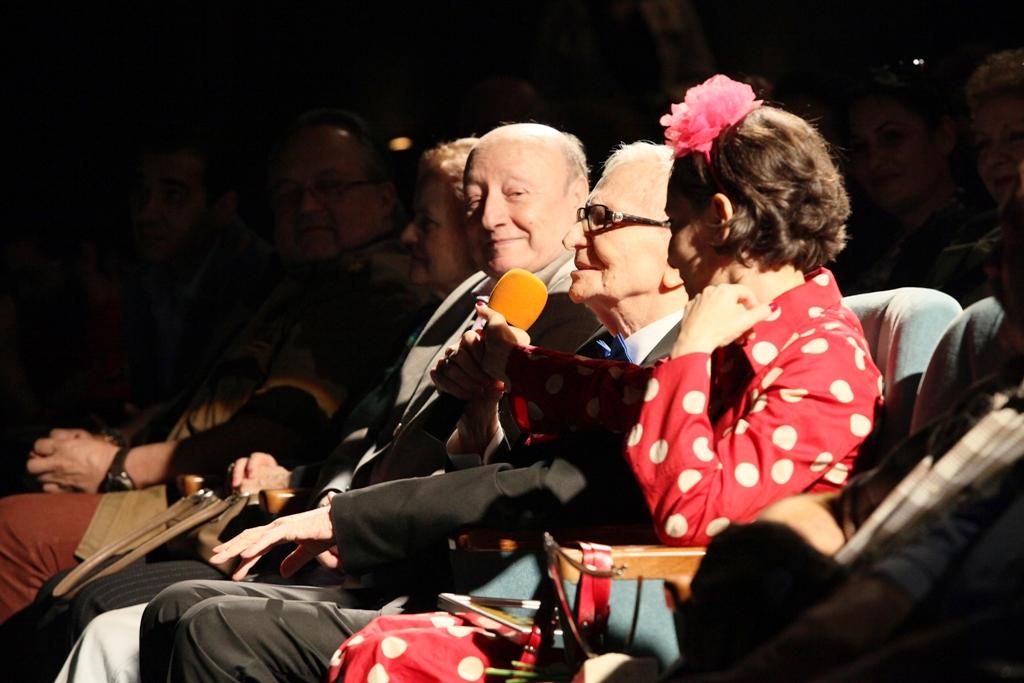 Marin Moraru, Radu Beligan şi Lamia Beligan, la Gala festCO