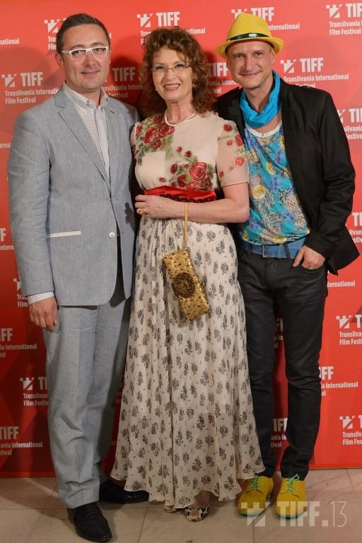 Tudor Giurgiu, alături de Angela Similea şi de Mihai Chirilov