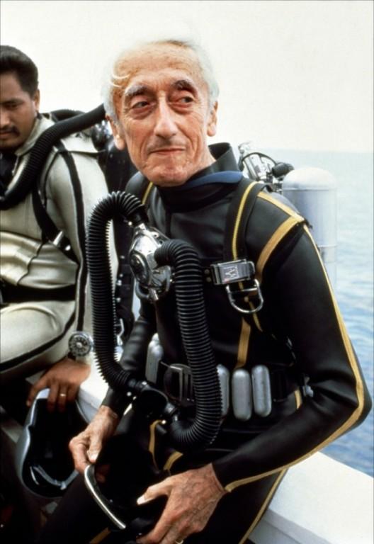 Jacques-Yves Cousteau, oceanograf francez