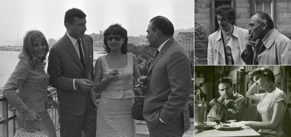 Liviu Ciulei, în trei fotografii de colecţie, alături de: Ana Szeles, Victor Rebenciuc, Gina Patrichi, Ion Caramitru şi Irina Petrescu.