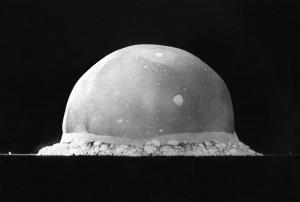 Testul Trinity primul test al unei bombe atomice