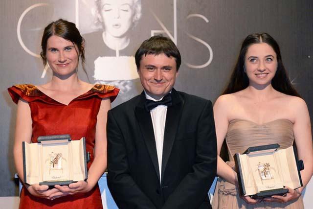 Cristina Flutur, Crisitan Mungiu şi Cosmina Stratan