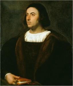 Tiţian: Portretul lui Jacopo Sannazaro (1514 - 1518)