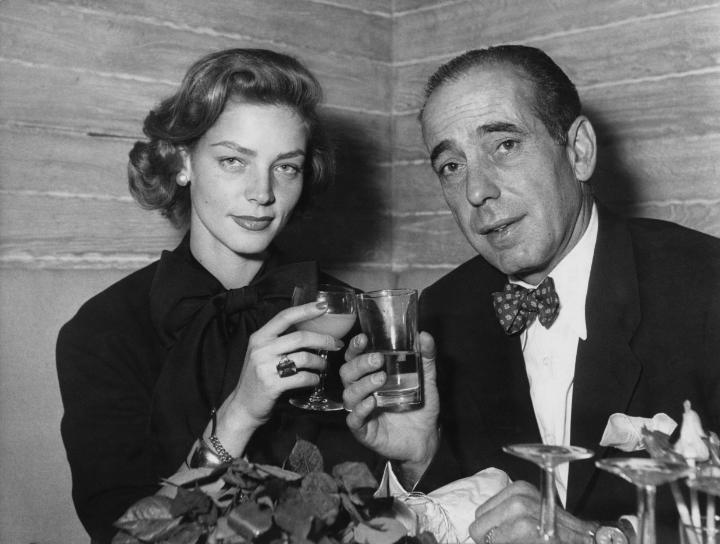 Lauren Bacall şi Humphrey Bogart
