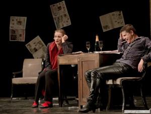 Mic şi al dracu', după Ion Pribeagu, regia Maia Morgensten