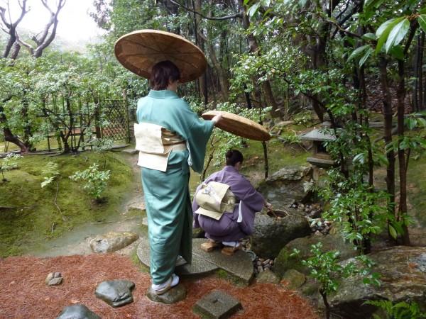 Studiul ceremoniei ceaiului, la Școala Urasenke, Kyoto,Japonia. foto: Andrei Costică
