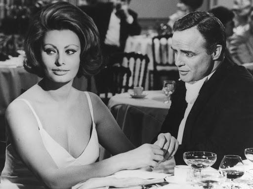 Sophia Loren & Marlon Brando