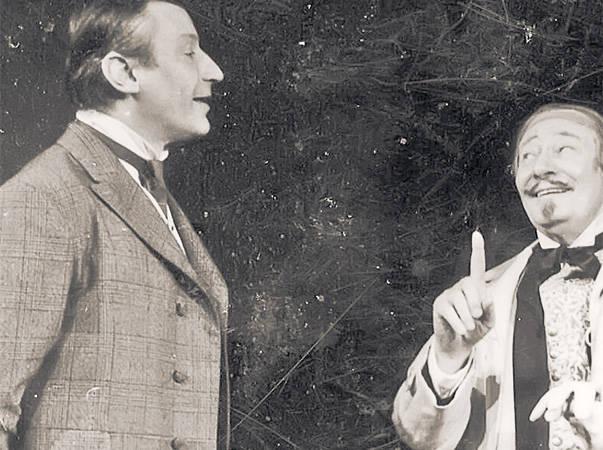 Victor Rebengiuc şi Fory Etterle