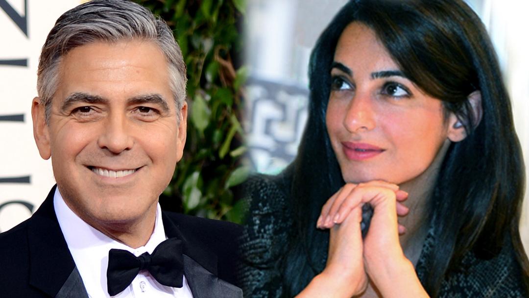 George Clooney şi Amal Alamuddin