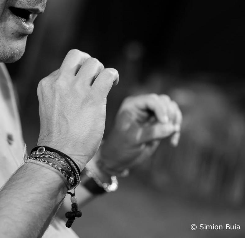 Alexandru Darie, fotografiat de Simion Buia